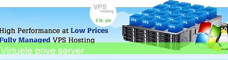 VPS hosting is betrouwbaar dankzij onze dubbel uitgevoerd netwerk